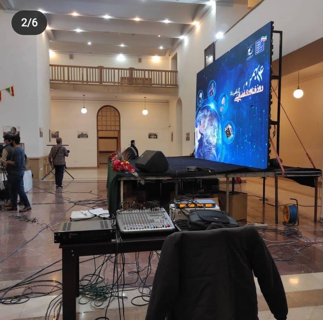 تلویزیون بزرگ-تی وی همایش- ویدیو وال-تلویزیون شهری 09223271123
